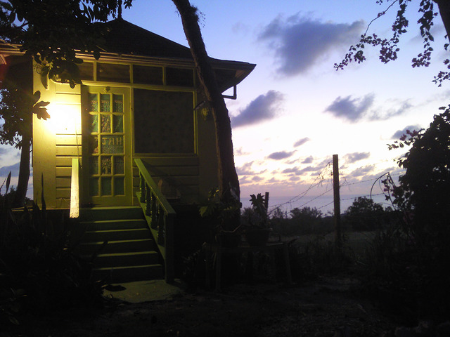 Our shack in Negril Jamaica