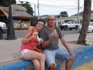 Taking a break in San Juan del Sur, Nicaragua