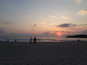 Sunset in Puerto Escondido, Mexico
