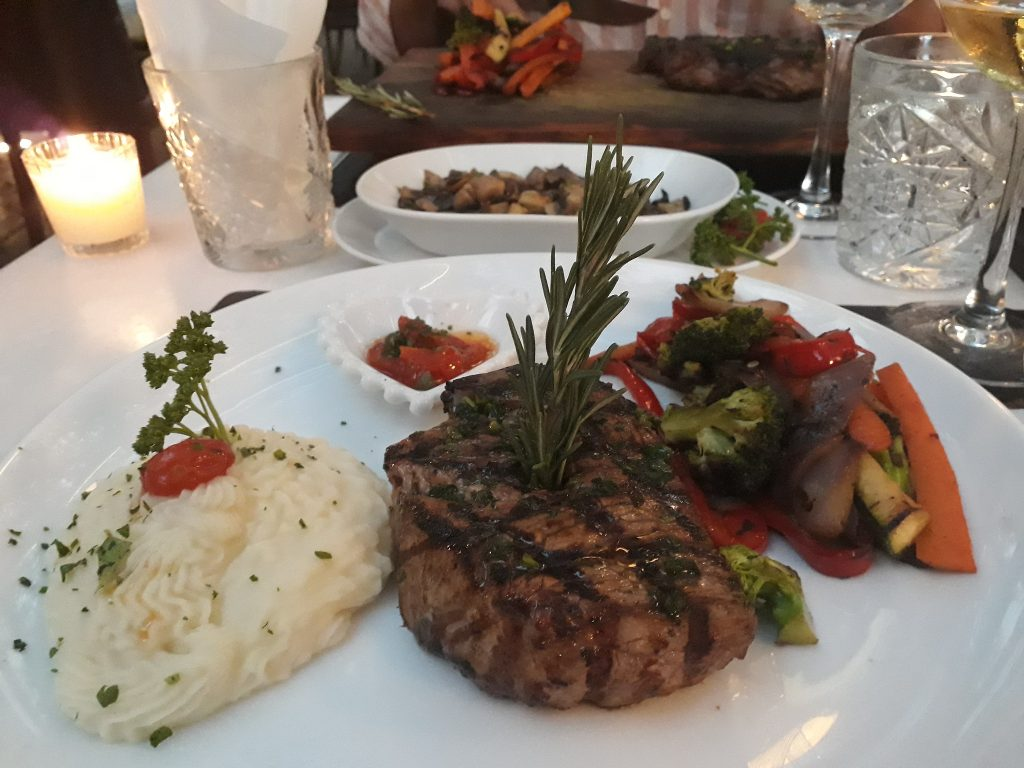 Steak in Mexico