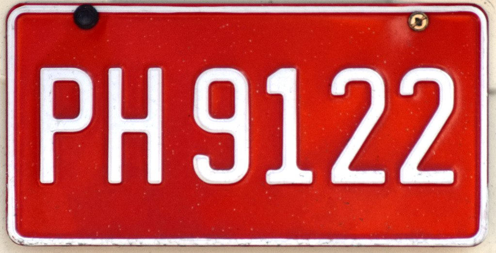 negril jamaica route taxi plate