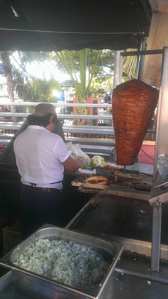 yucatan food al pastor in Merida