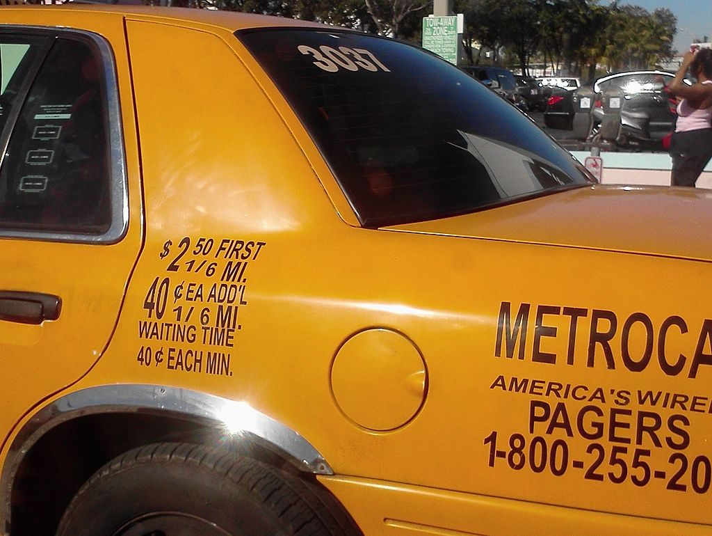 taxi fare in the States
