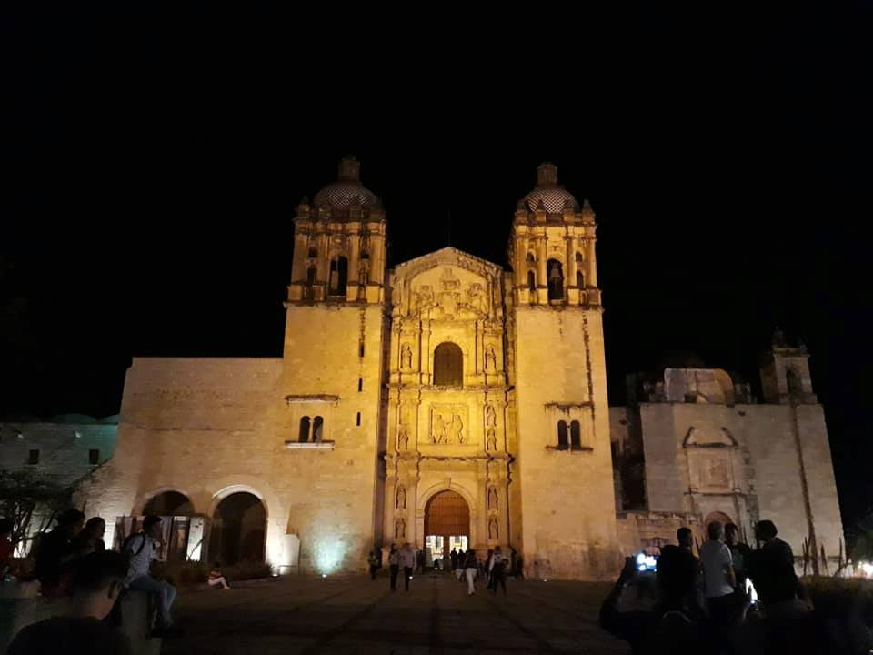 Santo Domingo church in Oaxaca City