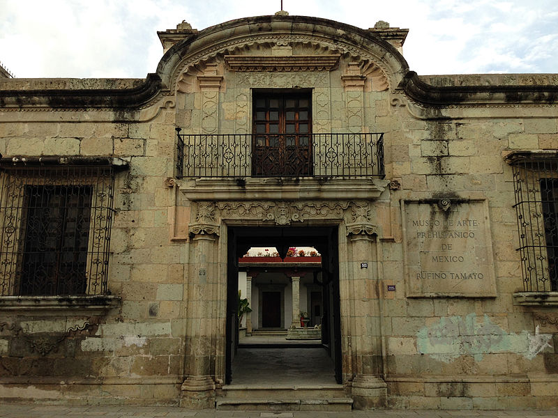 Rufino Tamayo Museum of Prehistoric Art Exterior