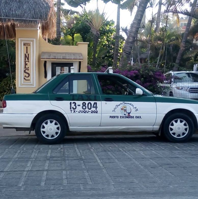 Typical Taxi in Puerto Escondido