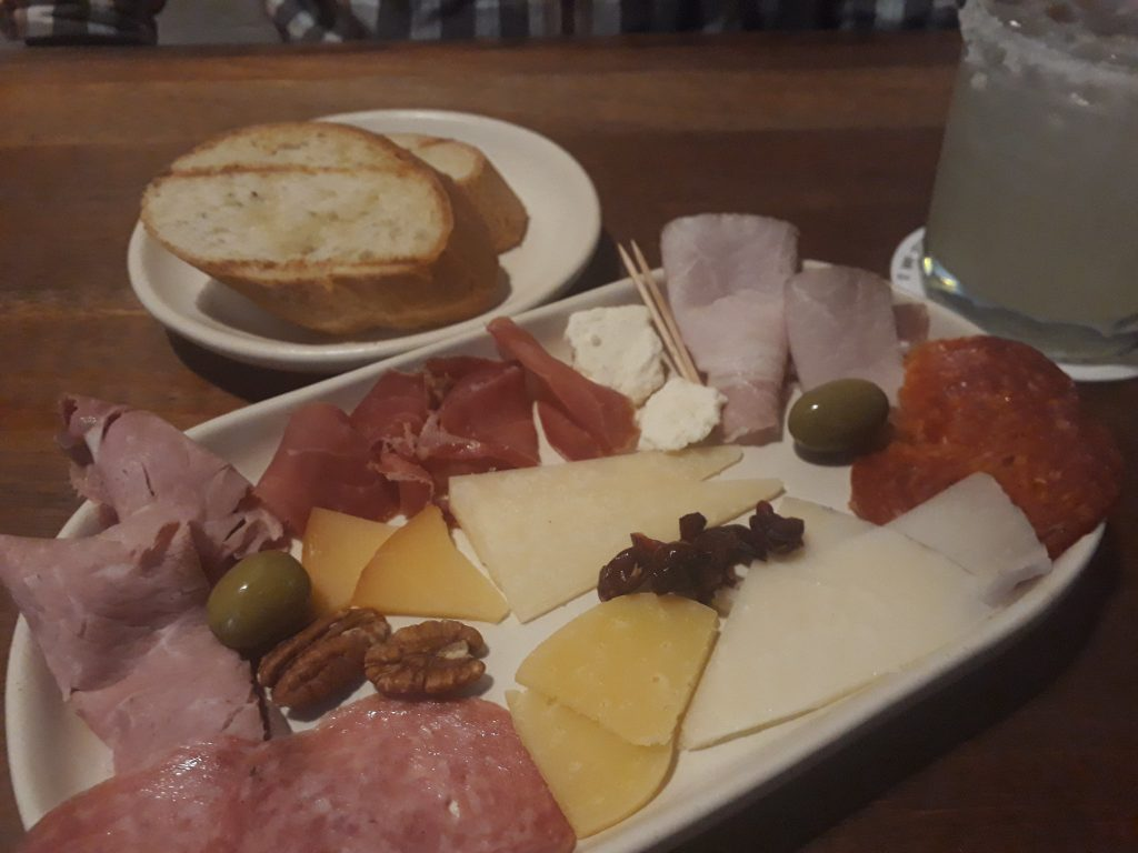 Charcuterie plate for one at Gourmand Delicatessen